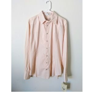 Johnny Was 3J Western Embroidered Pearl Snap Shirt